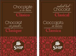 25 buste preparato per cioccolata calda CLASSICA